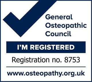 Lorna Rose Registered with the General Osteopathic Council Number 8753
